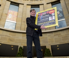 24/10/16 ROYAL CONCERT HALL - GLASGOW Jim McCalliog was on hand to promote the inaugural Legends of Football event.