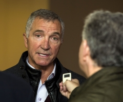 24/10/16 ROYAL CONCERT HALL - GLASGOW Graeme Souness was on hand to promote the inaugural Legends of Football event.