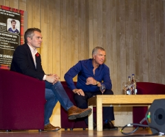 03/11/16 - 16110312 - LEGENDS OF FOOTBALL GLASGOW CONCERT HALL Graeme Souness